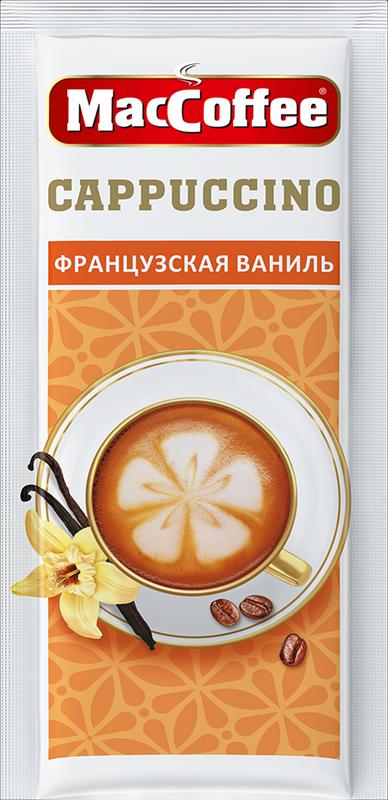 MacCoffee Cappuccino French Vanilla
