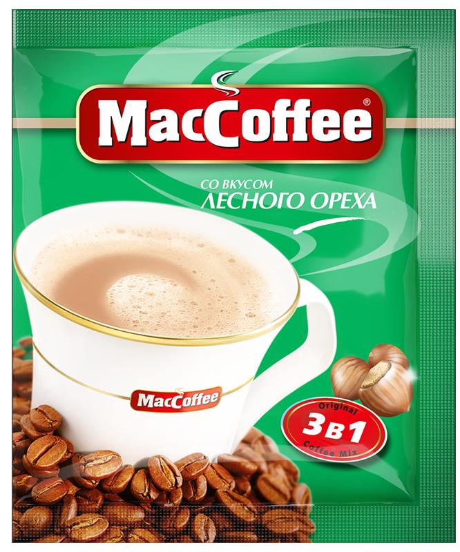 MacCoffee 3 в 1 Лесной орех