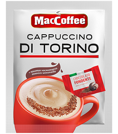 MacCoffee Cappuccino di Torino <br> с шоколадом