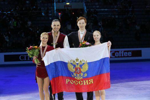 MacCoffee supported the triumph of Russian figure skaters at European championship