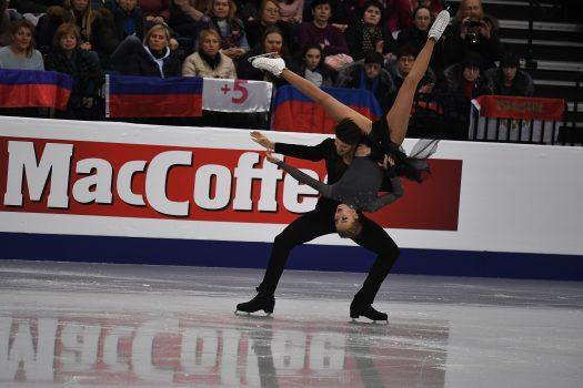 MacCoffee на Чемпионате Европы по фигурному катанию в Минске