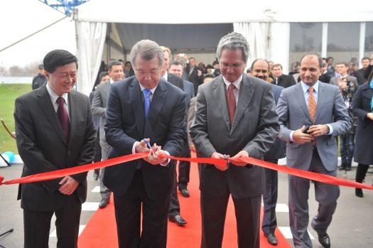 На Черкасщине открылся новый завод по производству всемирно известного кофе MacCoffee