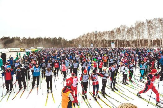 MacCoffee's Hot Shots at the Spring Ski Track