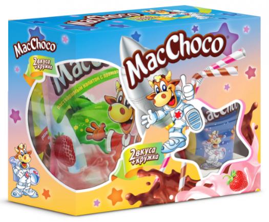 В ноябре напиток MacChoco порадовал ребят новой яркой промо-упаковкой!