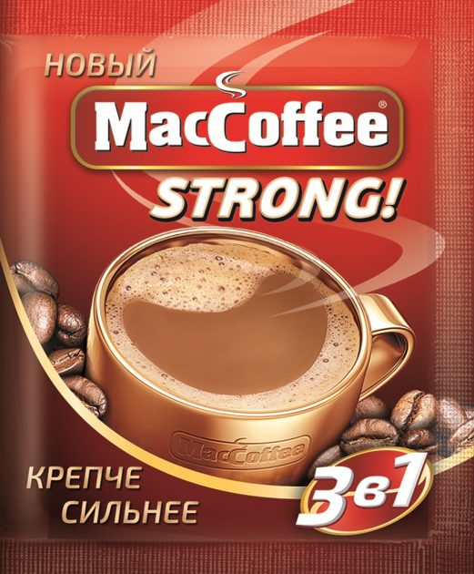 New MacCoffee Strong, new aroma and new strength!