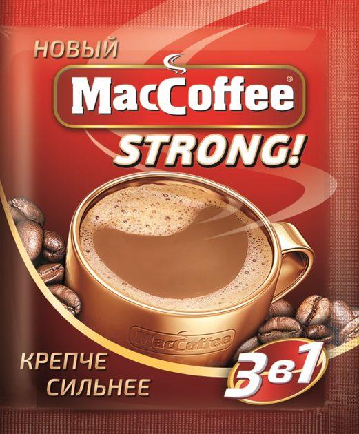 Новый MacCoffee Strong стал еще крепче и ароматнее