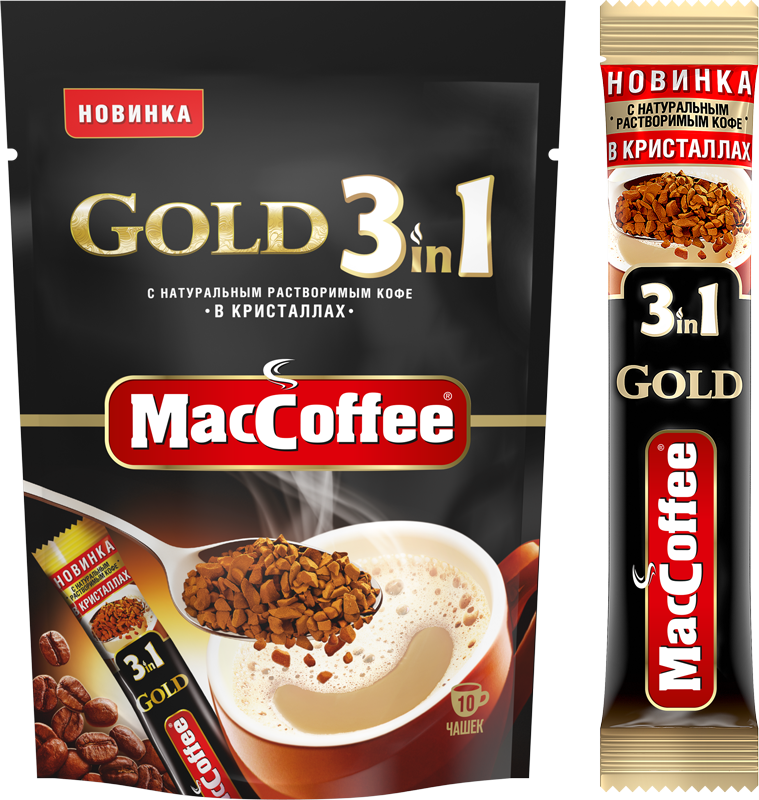 MacCoffee Gold 3 in 1