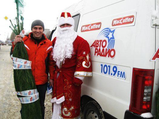 MacCoffee дарит новогоднюю радость жителям Нижнего Новгорода