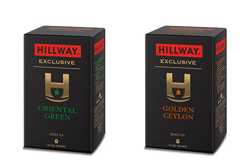Please welcome new Exclusive Collection of Hillway tea packed in individual sachets
