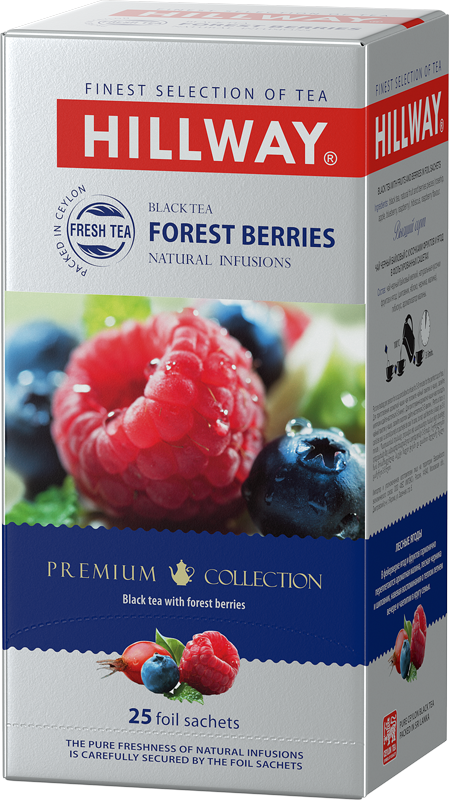 Forest Berries — black tea with forest berries
