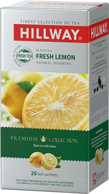 Fresh Lemon — black tea with lemon