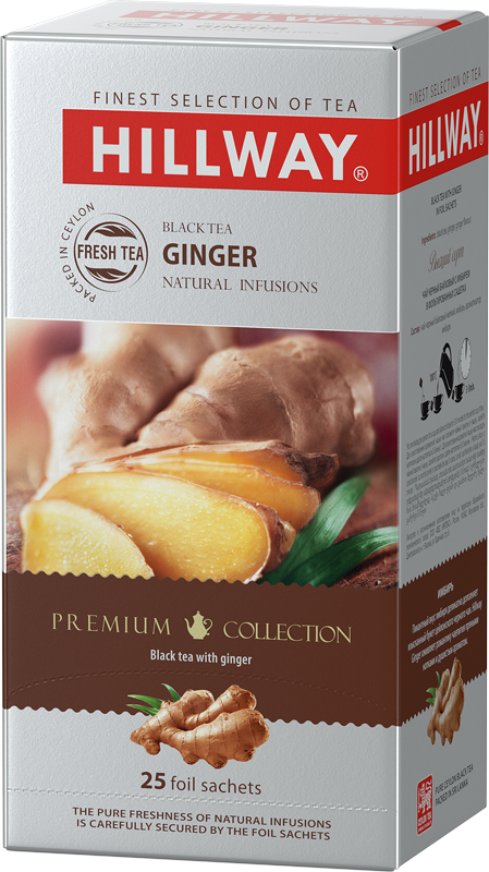 Ginger — black tea with ginger