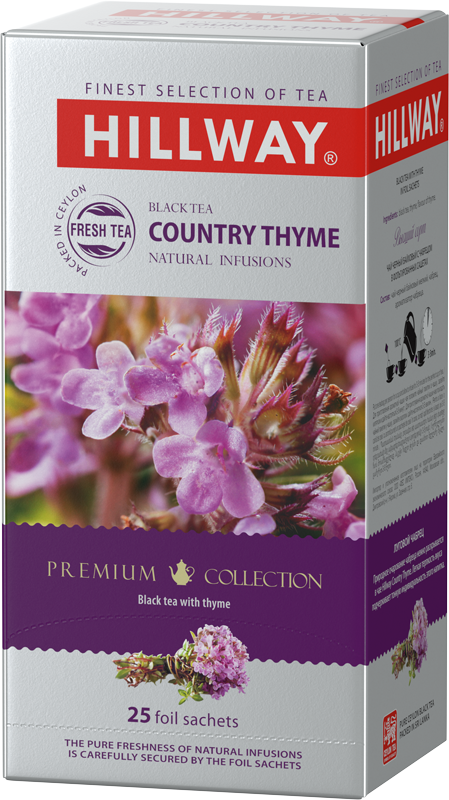 Country Thyme — black tea with thyme