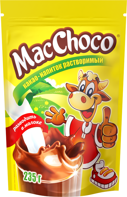 MacChoco® instant cocoa-drink