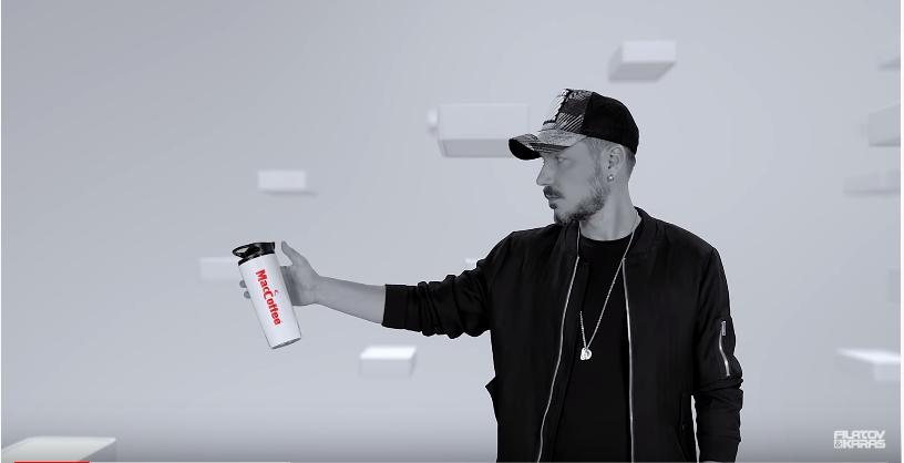 "MacCoffee in the music video by Filatov & Karas vs Burito – ""Vozmi moe serdce""."