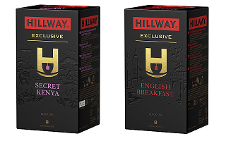 Hillway. Novelties in black tea