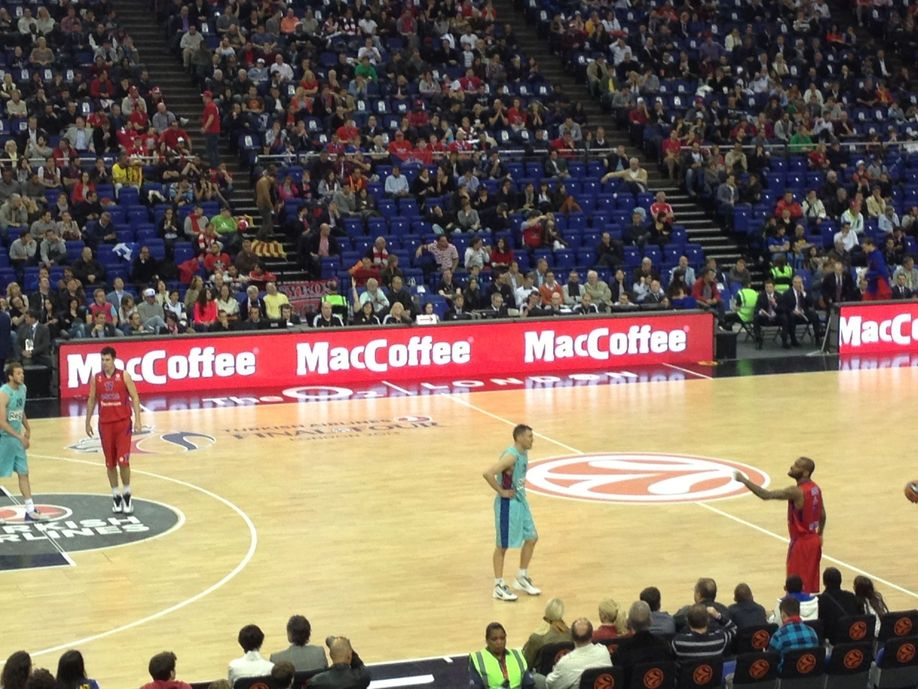 Cheering the Basketball Euro League