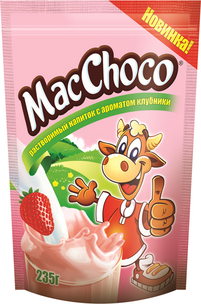 Meet new instant drink under MacChoco trademark