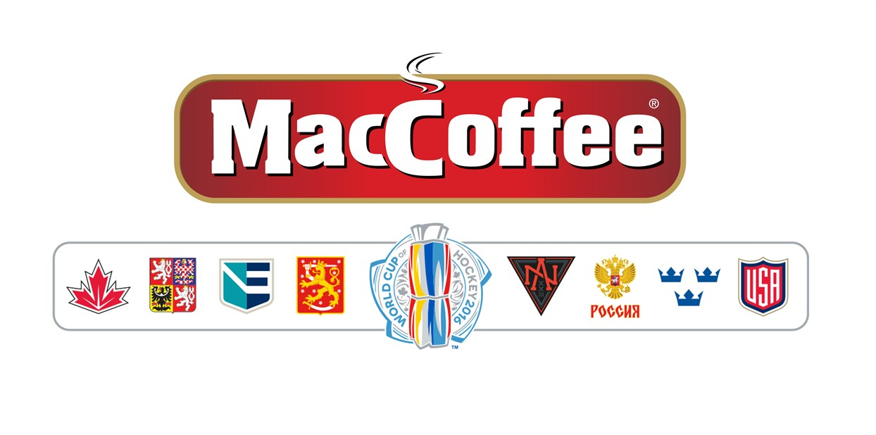 MacCoffee is the official sponsor of the World Cup of Hockey