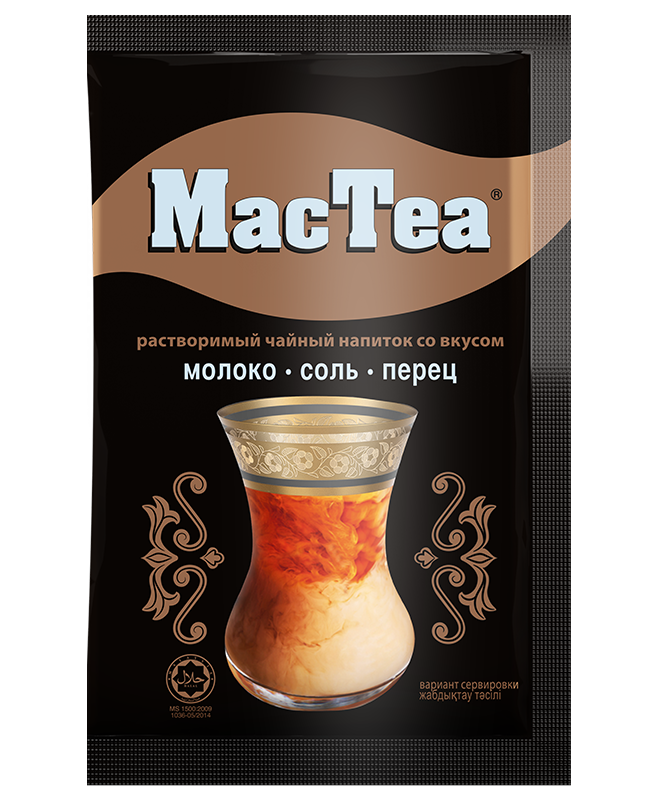 MacTea® Milk and salt with pepper