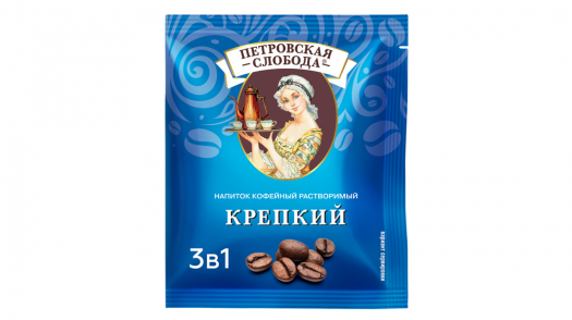 Coffee 3 in 1 «Petrovskaya Sloboda» redesign