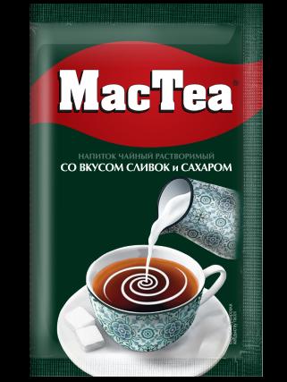 MacTea® со вкусом сливок и сахаром
